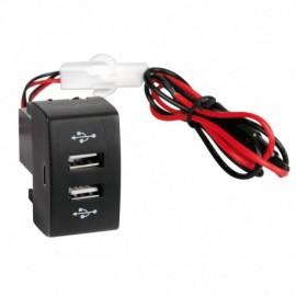 Original-Fit, doppia presa USB, 12/24V - Iveco