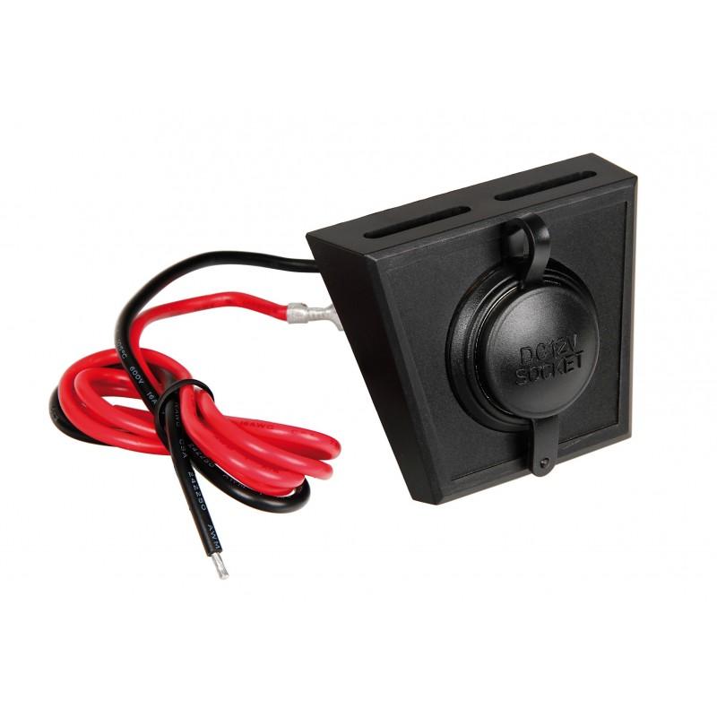 Pannello Solare Con Presa Di Corrente : Px kit presa corrente con pannello di supporto