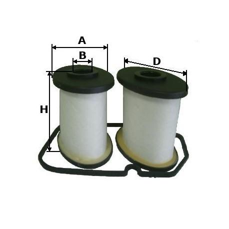 Kit filtro sfiato motore Iveco Tector