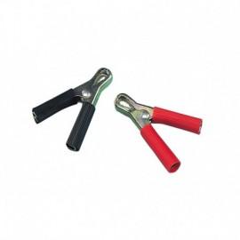 Coppia pinze batteria - 7 cm - 40A