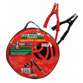 Cavi batteria Export 12/24V - 450 cm - 500 A - 22,7 mm²