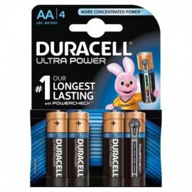 "Duracell Ultra Power, stilo ""AA"", 4 pz"