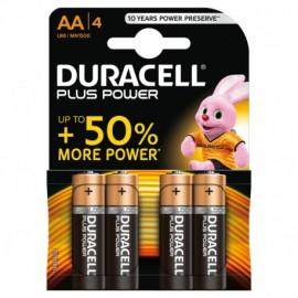 """Duracell Plus Power, stilo """"AA"""", 4 pz"""