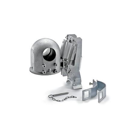 Spegnifiamma automatico verticale in alluminio per scarico 100-135