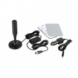 Globo-1 Plus, antenna TV amplificata con ricezione digitale, 12/24V - 130 mm