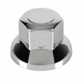 Set 10 copribulloni in acciaio inox lucidato - Ø 33 mm