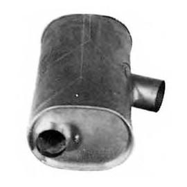 Silenziatore centrale per Iveco Turbostar cod Imasaf 768106