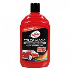 Color Magic, cera protettiva arricchita con colore - 500 ml - Rosso