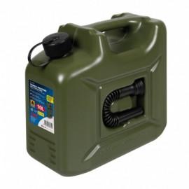 Tanica carburante in polietilene, modello militare - 10 L