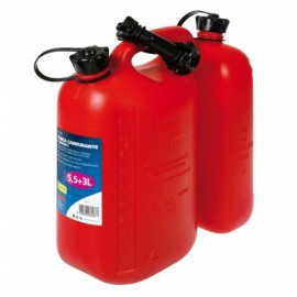 Tanica carburante a 2 comparti - 5,5+3 L